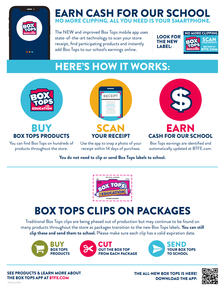 Box Tops Flyer