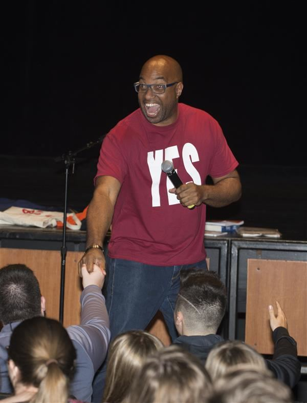 Kwame Alexander Inspires CCS Students