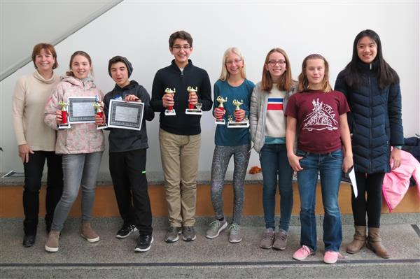 MathCounts Team Enjoys Success