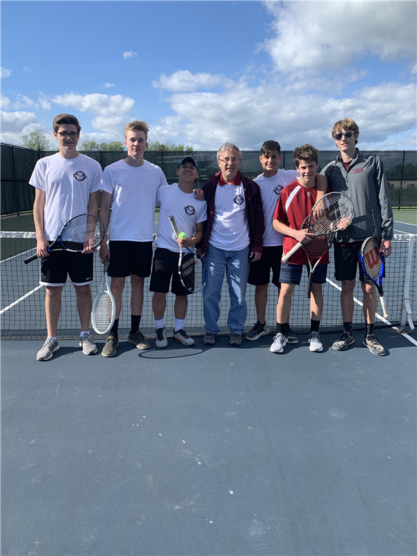 Tennis Team Wins Title