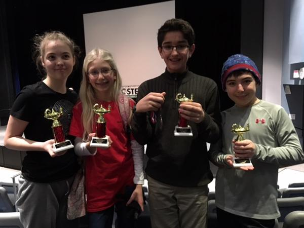 Middle School Mathcounts Team Places Second