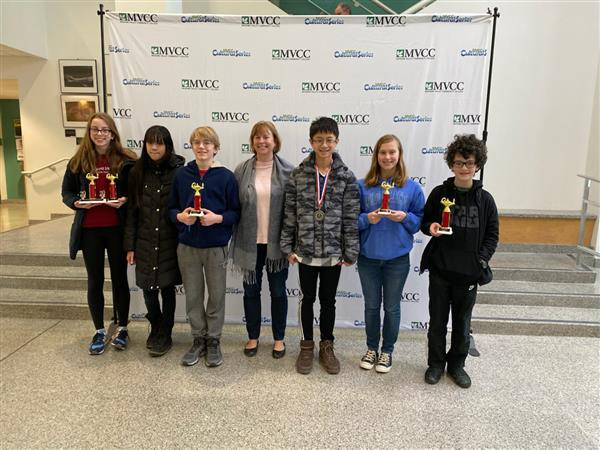 MathCounts Team Wins Regional Competition