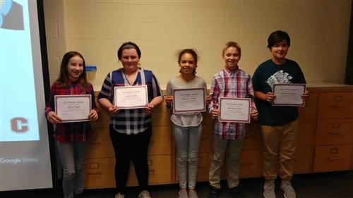 Upstanders Recognized at Board of Education Meeting